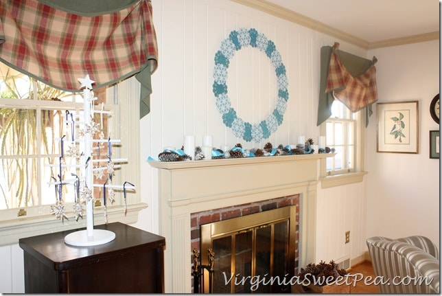 Winter Mantel by Sweet Pea1
