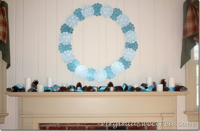 Winter Mantel by Sweet Pea2
