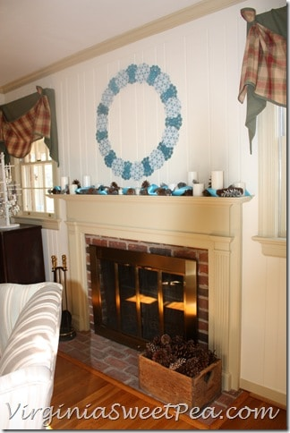 Winter Mantel by Sweet Pea3