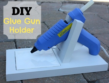 DIY Glue Gun Holder by Sweet Pea