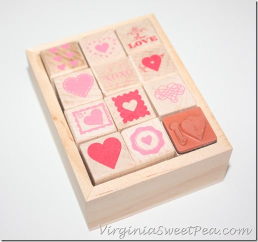 Heart Stamps from Martha Stewart