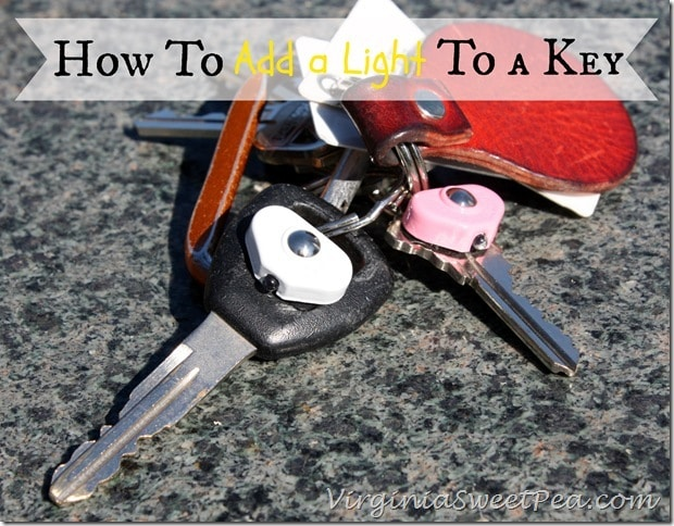 How to Add a Light to a Key