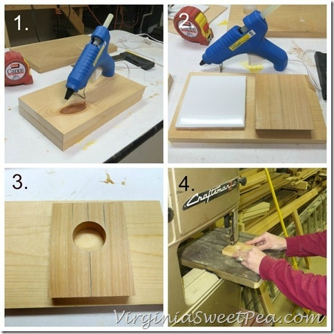 How to Make a Glue Gun Holder 1