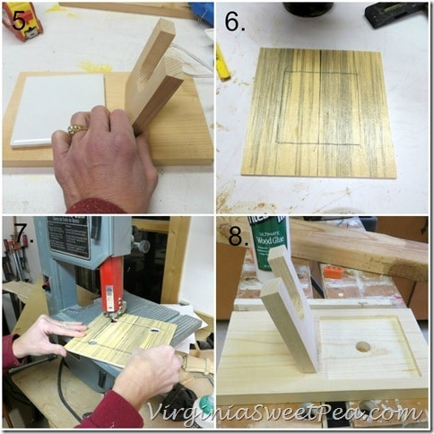 How to Make a Glue Gun Holder 2