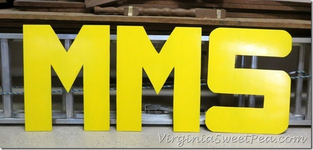 MMS in Yellow