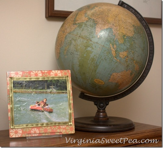 Modge Podge Photo Transfer Medium - Reese Tubing - Antique Globe