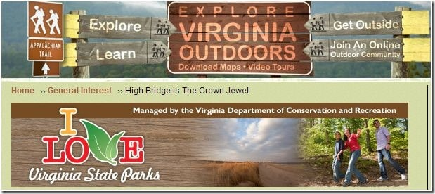 Virginia State Park Guest Post