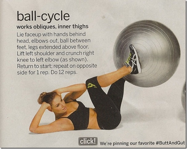Ball Cycle - Tone Your Gut