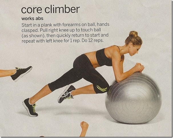 Core Climber - Tone Your Gut