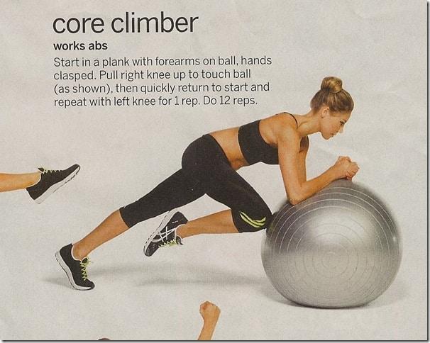 Core Climber - Tone Your Gut