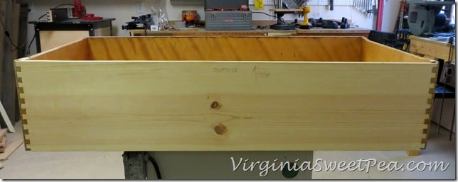 Dresser - New Back for Bottom Drawer