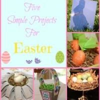 Five Projects for Easter