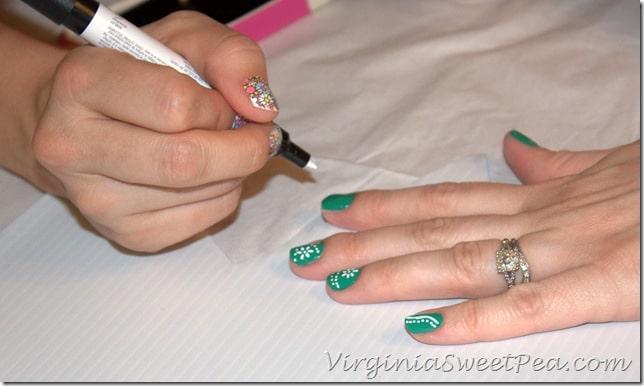 Rachel Does Nicole's Nails
