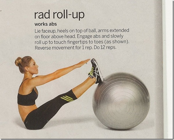 Rad Roll Up - Tone Your Gut