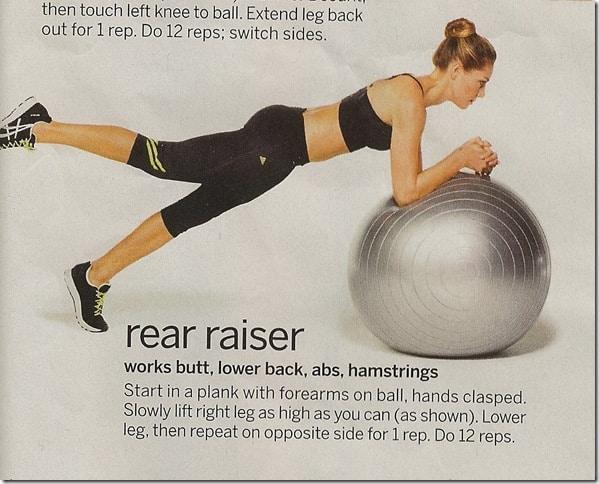 Rear Raiser - Tone Your Butt