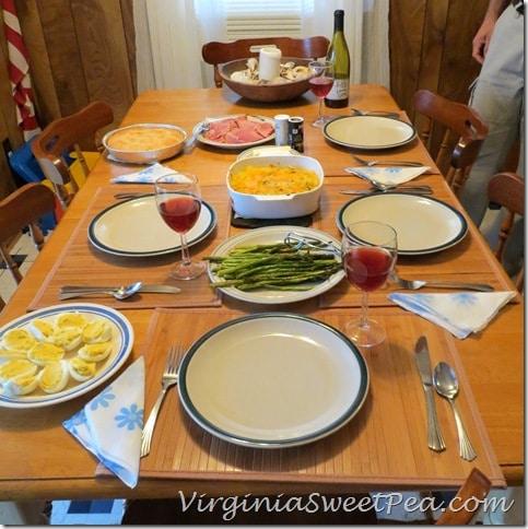 Easter Dinner OBX