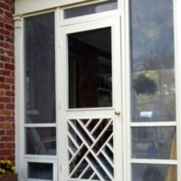 Handcrafted Chippendale Door