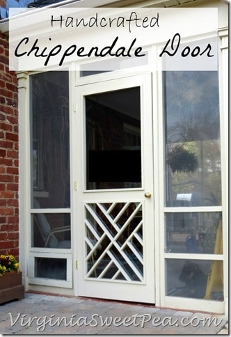 Handcrafted Chippendale Door by Sweet Pea