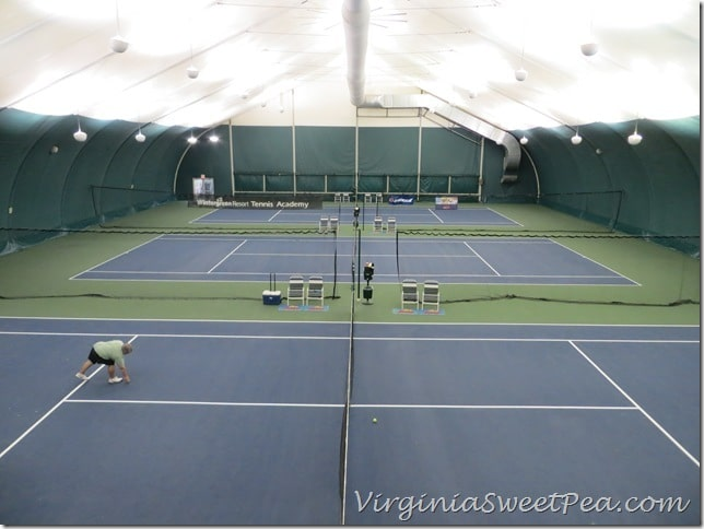 Indoor Courts at Wintergreen
