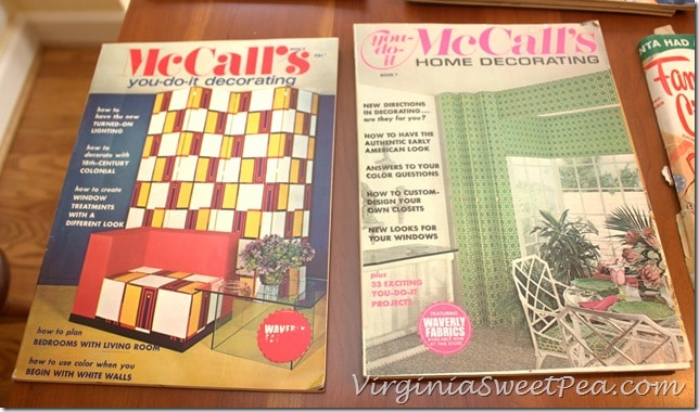 McCall's Vintage Magazines from the 1970's