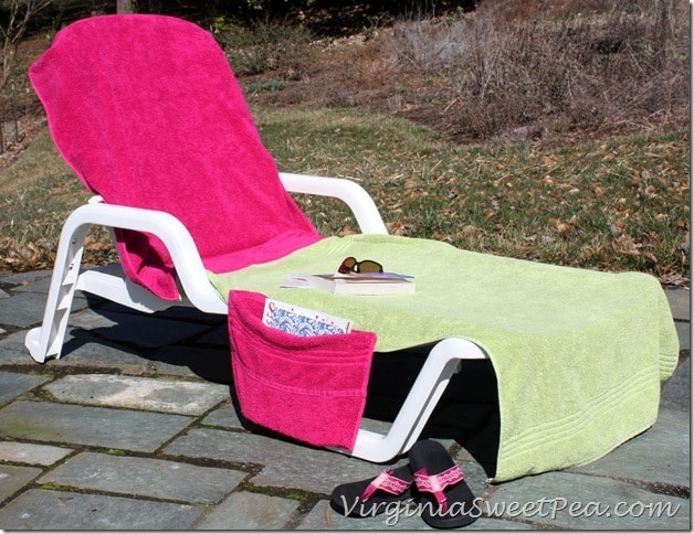 DIY Lounge Chair Cover2
