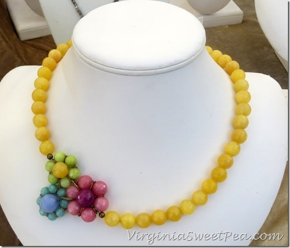 Anne Vaughan Designs Yellow Necklace