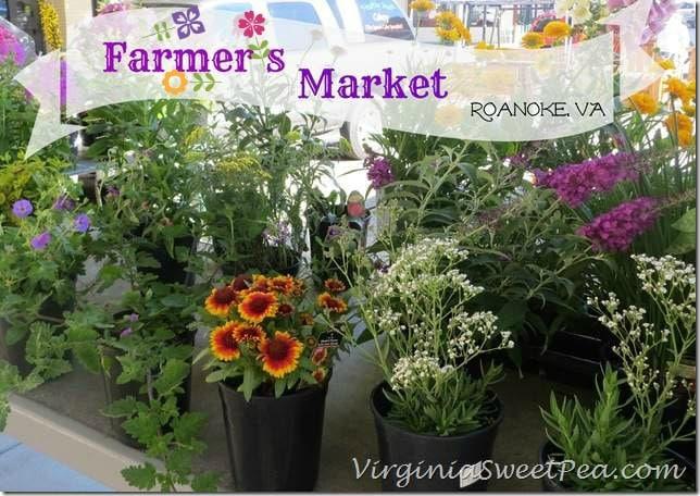 Farmers Market in Roanoke VA by virginiasweetpea.com