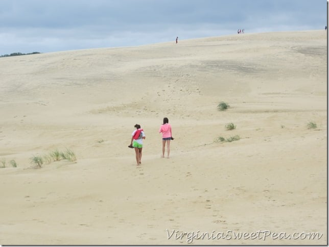 Reese and Cammie on the Dunes