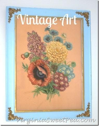 Vintage Art by VirginiaSweetPea.com