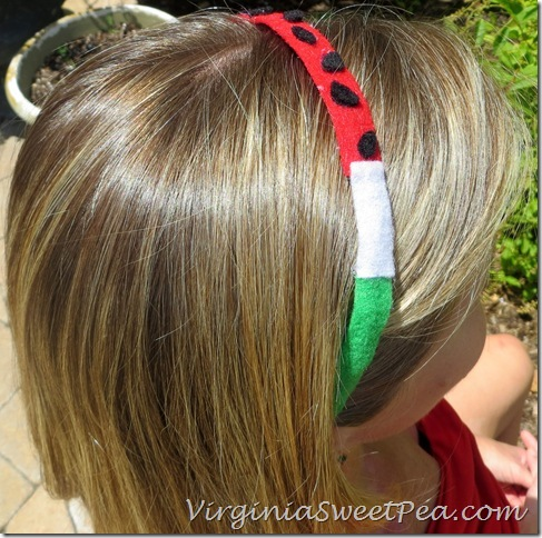 Watermelon Headband2