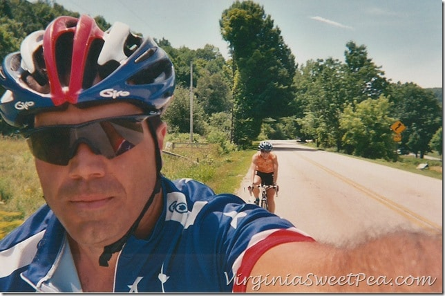 2003 Biking in Vermont