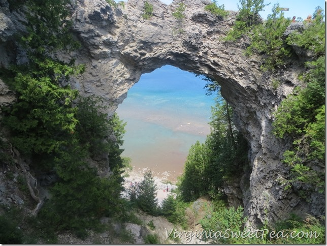 Arch Rock from the Top