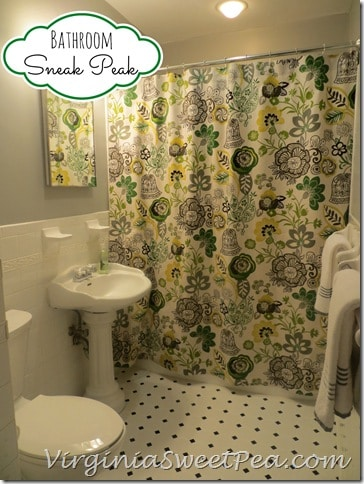 Bathroom Sneak Peak by Sweet Pea