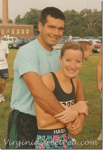 Before the 10 miler in 1998