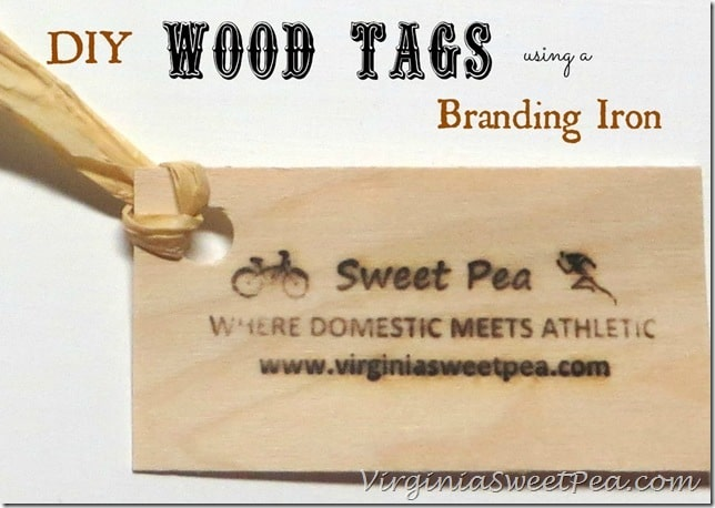 DIY Wood Tags Using a Woodworker's Branding Tool by Sweet Pea