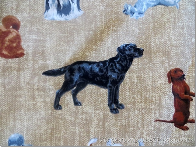 Dog Fabric for Back