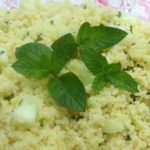 Cucumber Mint Couscous  ::  A Tasty Side Dish!