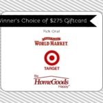 Giveaway Time :: Win a $275 Gift Card!