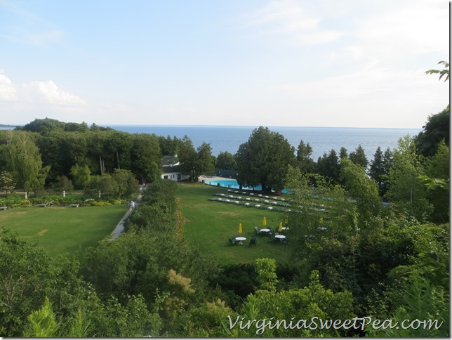 Lawn and Pool Grand Hotel Mackinac Island