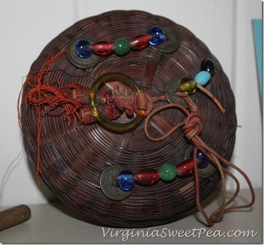 Vintage 1920's Indian Basket