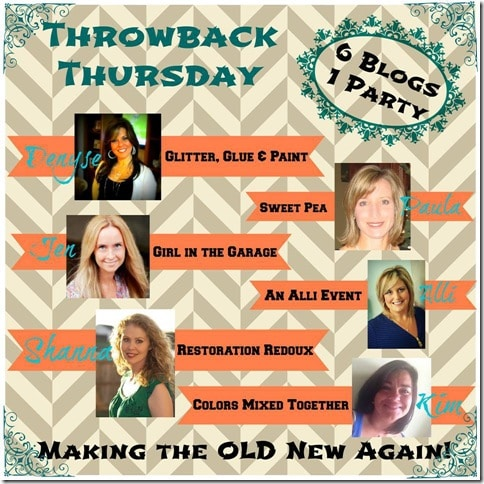 Throwback Thursday Link Party