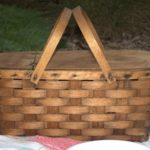 Trash to Treasure Picnic Basket