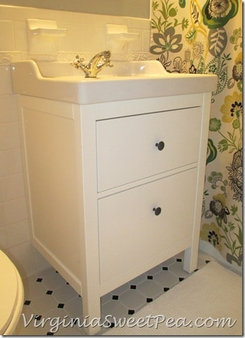 How to Install an Ikea Hemnes Sink CabinetBathroom Renovation Update   How to Install an Ikea Hemnes Sink  . Installing Bathroom Vanity. Home Design Ideas