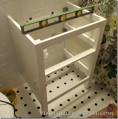How To Install An Ikea Hemnes Sink Cabinet