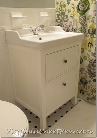 Bathroom Sinks Ikea bathroom renovation update :: how to install an ikea hemnes sink