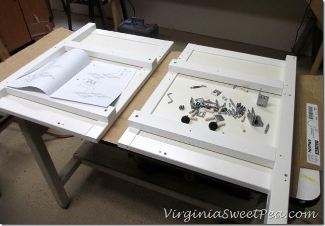 Installing an Ikea Hemnes Sink Cabinet