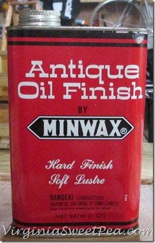 Minwax Antique Oil Finish