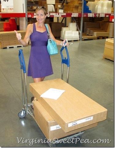 Shopping at Ikea