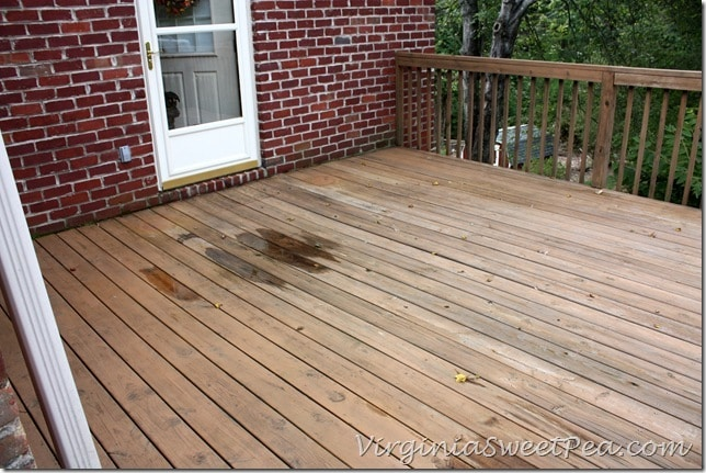 After - Entire Deck Cleaned