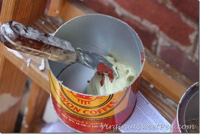 Bondo and Red Cream Hardener